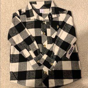 Old Navy- Checkered Toddler Dress Shirt